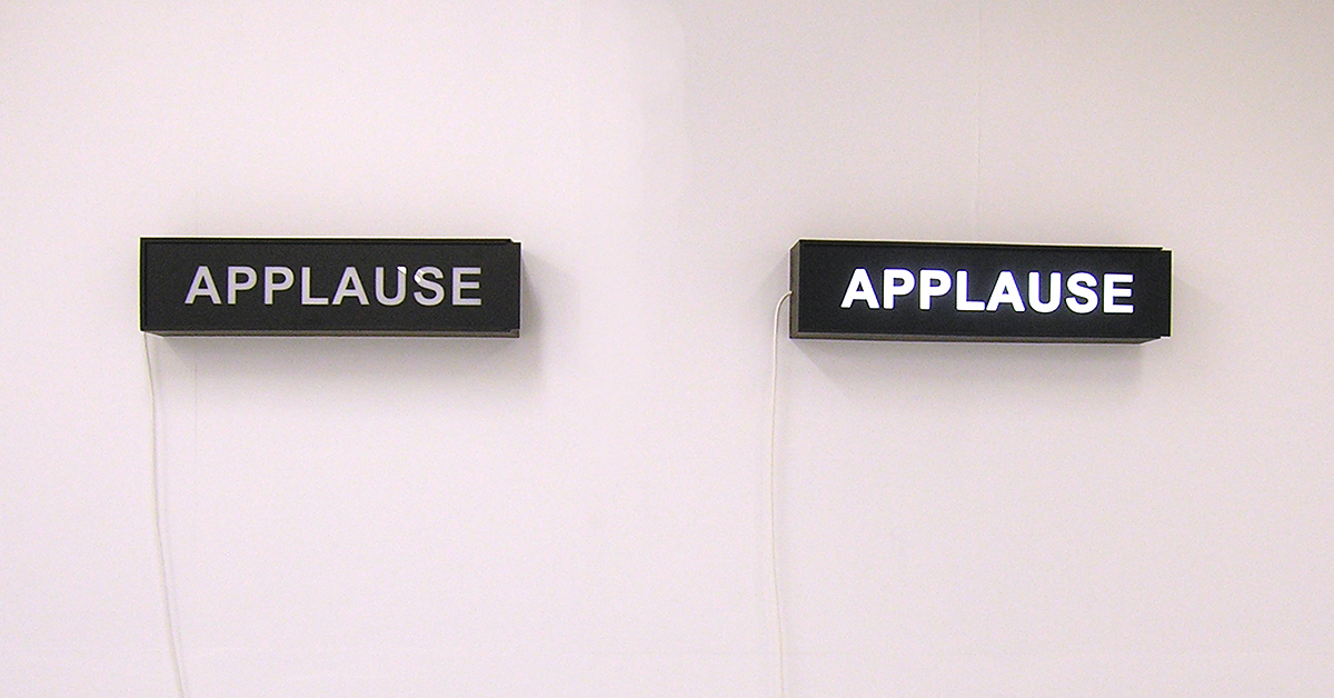 Untitled (APPLAUSE #2)